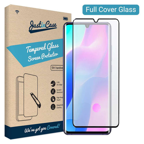 Full Cover Tempered Glass Xiaomi Mi Note 10 Lite Zwart
