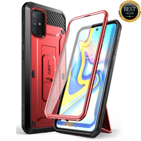 Supcase Samsung Galaxy A71 Unicorn Beetle Pro Case Rood