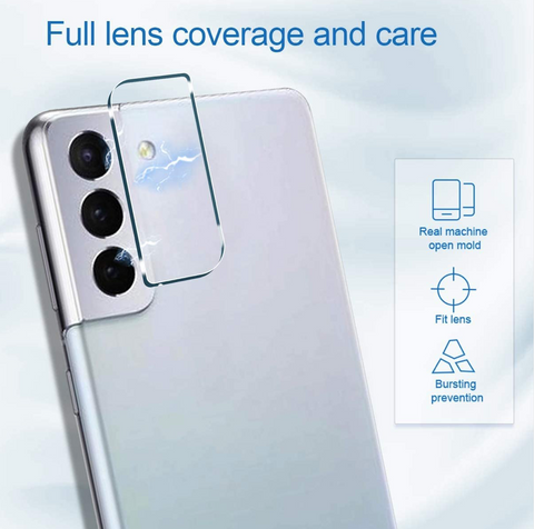 Samsung Galaxy S21 Plus Camera lens protector - Tempered Glass