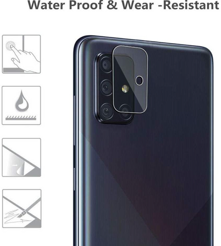 Samsung Galaxy A21s Tempered Glass Camera lens protector