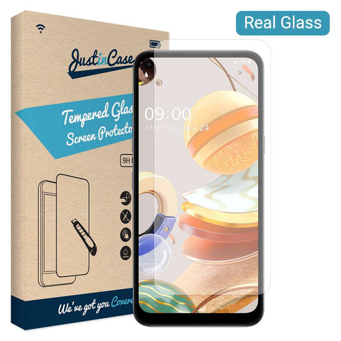Just in Case Tempered Glass LG K61