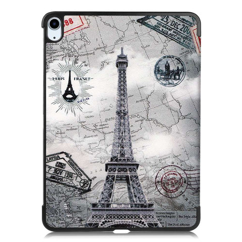 Apple iPad Air 4 2020 Tri-Fold Case - Eiffeltoren