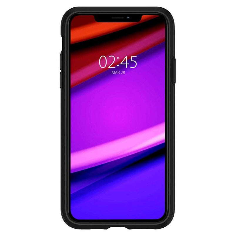 Apple iPhone 11 Pro Spigen Hybrid NX Hoesje Zwart