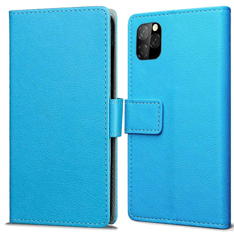 Apple iPhone 11 Wallet Hoesje Blauw
