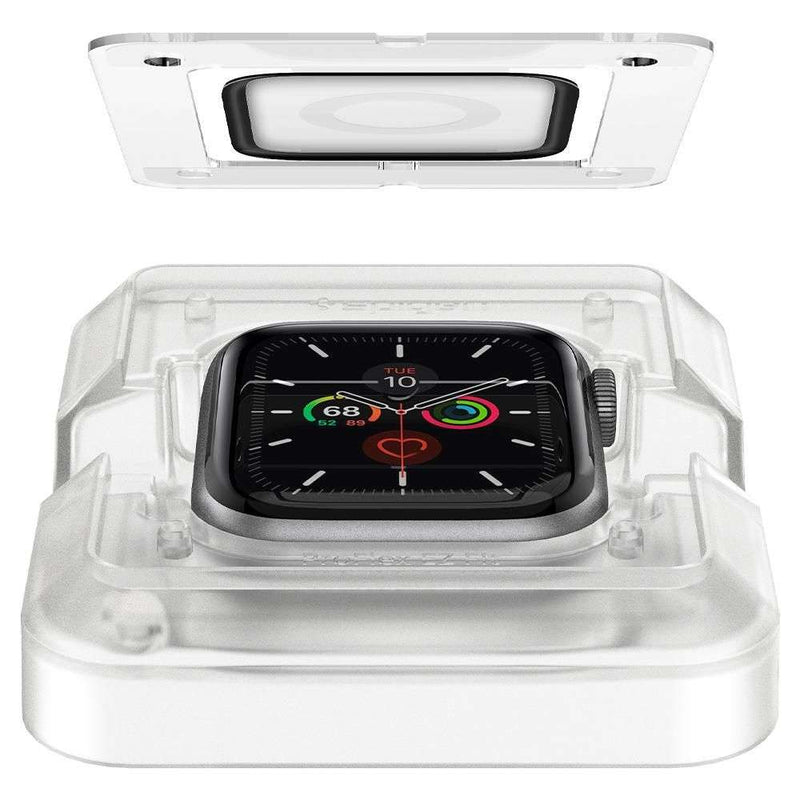 Apple Watch 44mm Full Cover Spigen Proflex EZ FIT - 2 Stuks