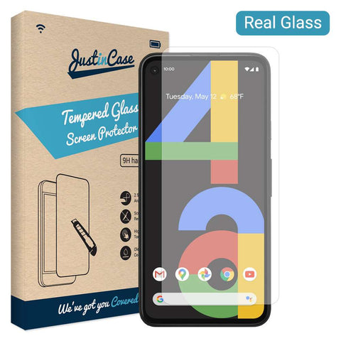 Just in Case Tempered Glass Google Pixel 4a
