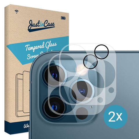 Just in Case Tempered Glass Apple iPhone 12 Pro Camera Lens 2 stuks