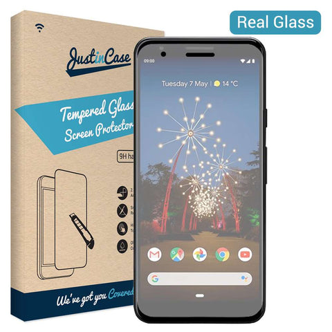 Just in Case Tempered Glass Google Pixel 3a