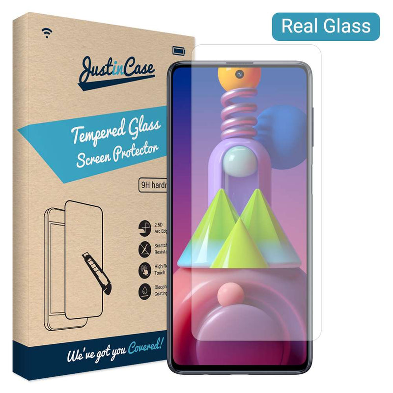 Just in Case Tempered Glass Samsung Galaxy M51
