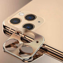 Metal Camera Lens Protector Apple iPhone 11 Pro /11 Pro Max - Goud