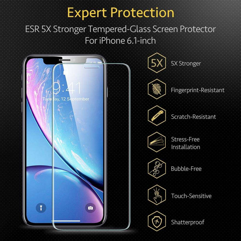 ESR Screen Shield Tempered Glass Apple iPhone 11 - 2 Stuks met Installatie Frame
