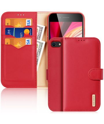 Dux Ducis Hivo Apple iPhone SE 2020 Book Case Hoesje Rood