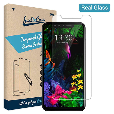 Just in Case Tempered Glass LG G8s ThinQ