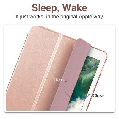 ESR Apple iPad 9.7 2018 Yippee Color Case Rose Goud