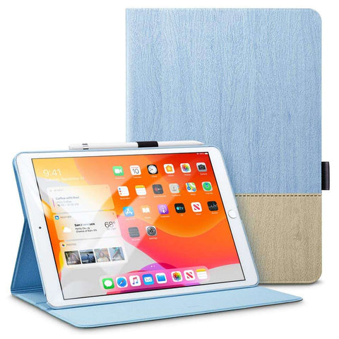 ESR Apple iPad 10.2 2019/2020 Simplicity Holder Case - Licht Blauw