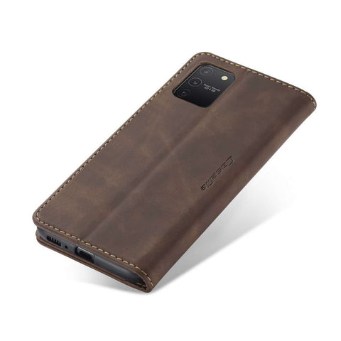 CASEME Samsung Galaxy S10 Lite Retro Wallet Case - Coffee