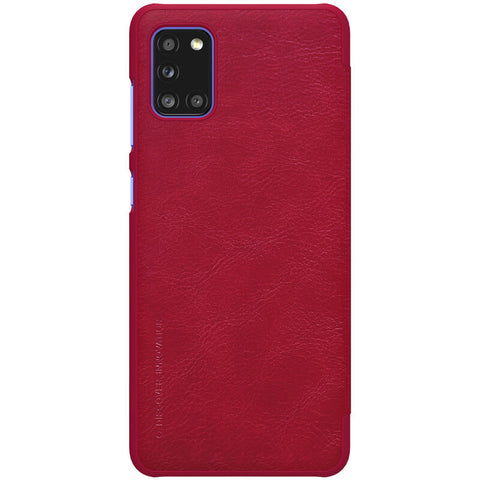 Samsung Galaxy A31 - Qin Leather Case - Rood