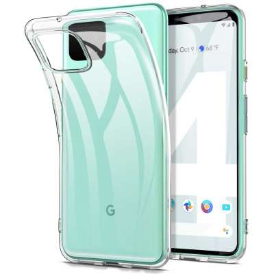 Google Pixel 4 XL Flexibel Hoesje Transparant