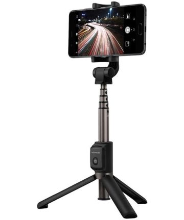 Huawei 2-in-1 Draadloze Bluetooth Camera Tripod / Selfie Stick Zwart