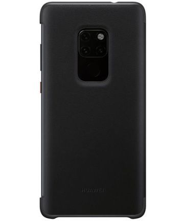 Huawei Mate 20 Smart View Flip Cover - Zwart