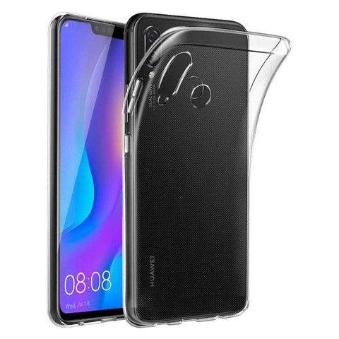 Just in Case Huawei P Smart Plus Soft TPU Hoesje - Transparant