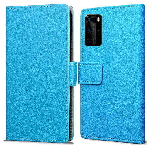 Just in Case Huawei P40 Pro Wallet Case - Blauw