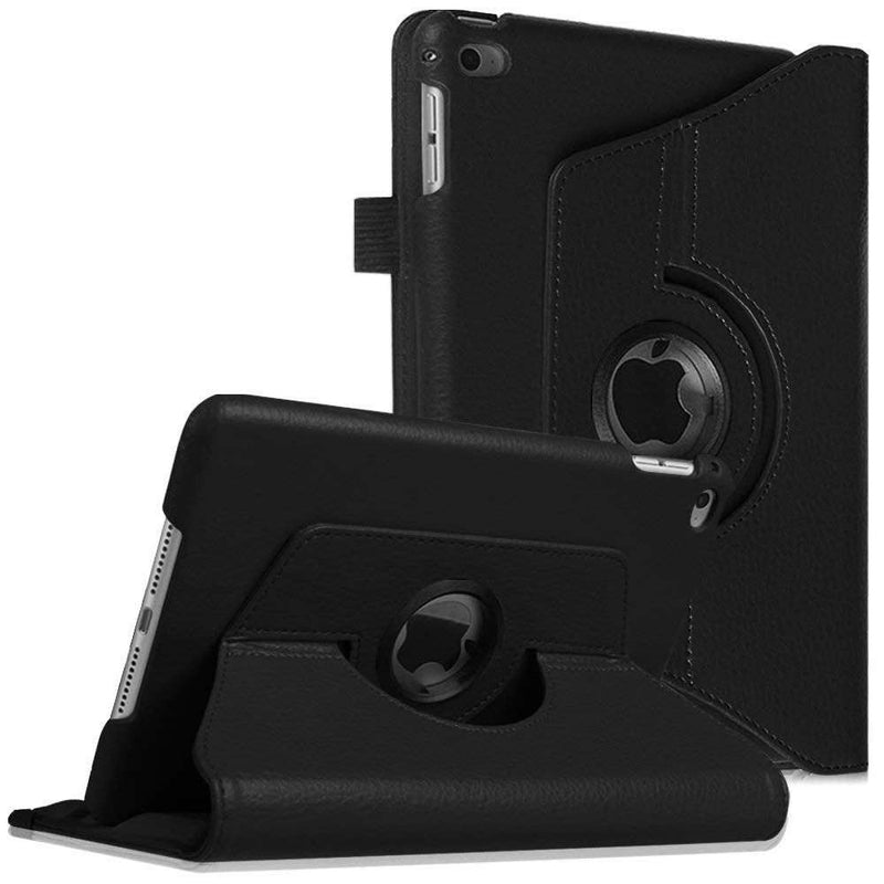 Just in Case Apple iPad Mini 2019 Rotating 360 Case Zwart