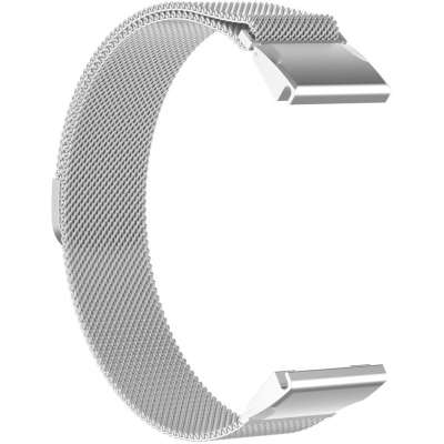Just in Case Garmin Fenix 5S / Fenix 5S Plus Milanees armband - Zilver