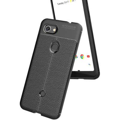 Just in Case Google Pixel 3a Back Cover Zwart