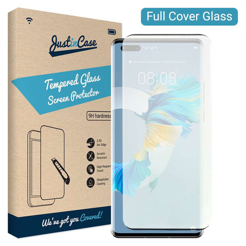Just in Case Huawei Mate 40 Pro Full Cover Tempered Glass