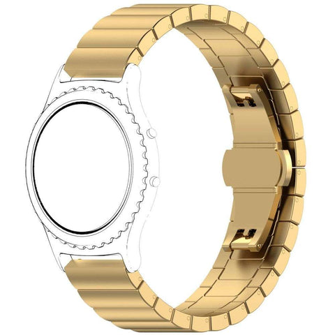 Just in Case Metalen Chain armband Samsung Gear S3 Classic / S3 Frontier - Goud