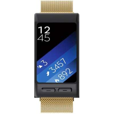 Just in Case Milanees armband voor Garmin Vivoactive HR - Goud