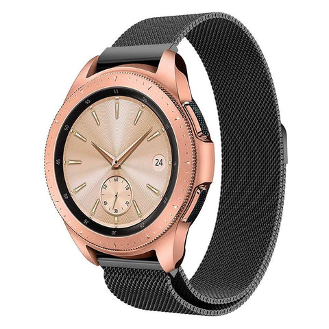 Just in Case Milanees armband voor Samsung Galaxy Watch 42mm - Black