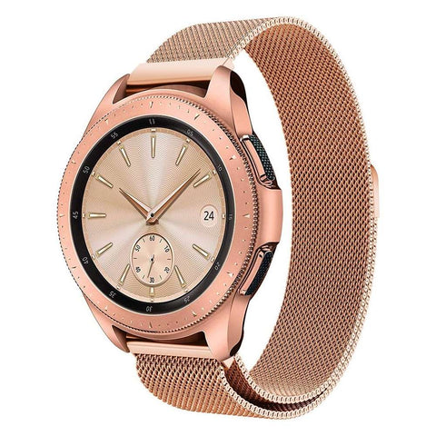 Just in Case Milanees armband voor Samsung Galaxy Watch 42mm - Rose Goud