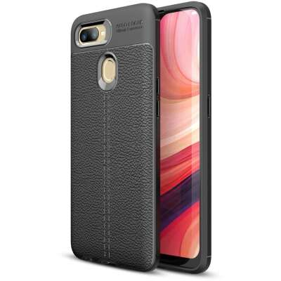 Just in Case Oppo AX7 Back Cover Zwart