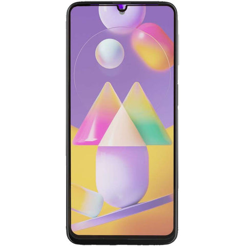 Just in Case Samsung Galaxy M31s Full Cover Tempered Glass - Zwart