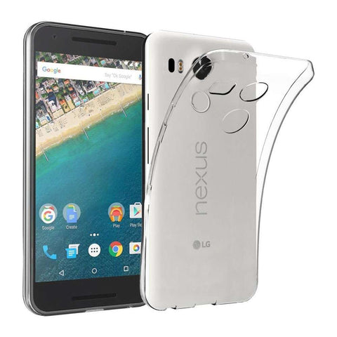 Just in Case LG Nexus 5X Soft TPU case - Transparant