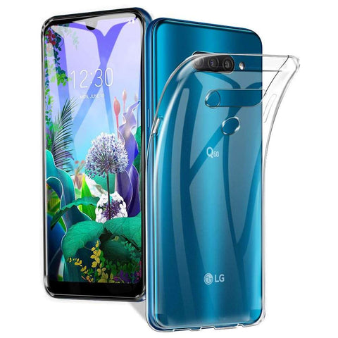 Just in Case LG Q6 Soft TPU case - Transparant