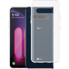 Just in Case LG V60 ThinQ 5G Soft TPU case - Transparant