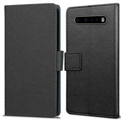 Just in Case LG V60 ThinQ 5G Wallet Case - Zwart