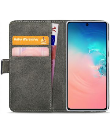 Mobilize Elite Gelly Wallet Samsung Galaxy S10 Lite Hoesje Book Zwart