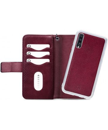 Mobilize Gelly Wallet Zipper Samsung Galaxy A70 Hoesje Bordeaux