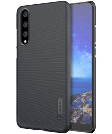 Nillkin Super Frosted Shield Huawei P20 Pro Zwart