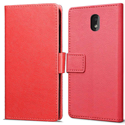 Just in Case Nokia 2.2 Wallet Case - Rood