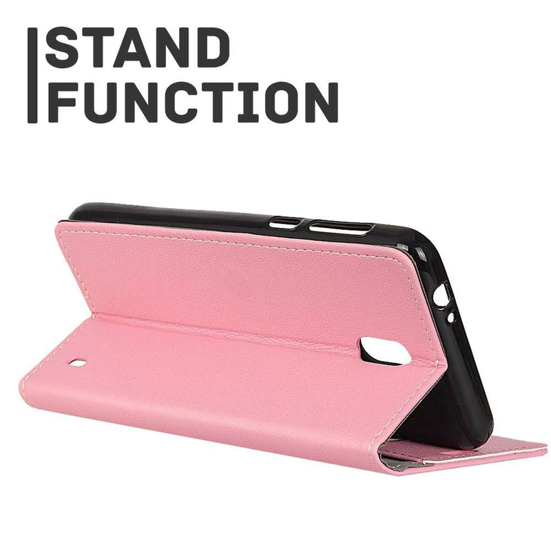 Just in Case Nokia 2.2 Wallet Case - Roze