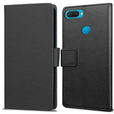 Just in Case Oppo A12 Wallet Case (Black)