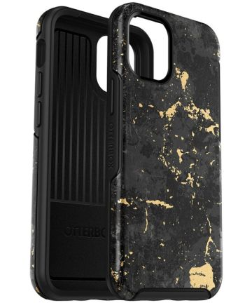 OtterBox Symmetry Series iPhone 12 Pro Max Hoesje Zwart Goud
