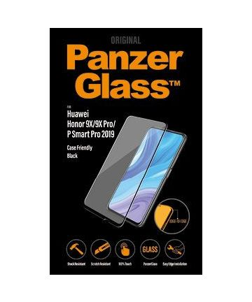 PanzerGlass Huawei Honor 9X Screenprotector Case Friendly Zwart