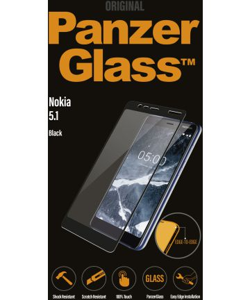 PanzerGlass Nokia 5.1 / Nokia 5 2018 Edge To Edge Screenprotector