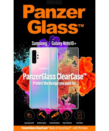 Panzerglass Samsung Galaxy Note 10 Plus ClearCase Transparant Hoesje